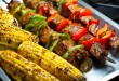 Brochette boeuf couscous